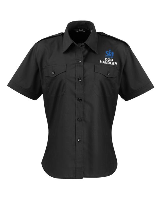 Door Supervisor SIA Polo Shirt HiViz Print Moisture Wicking Performance